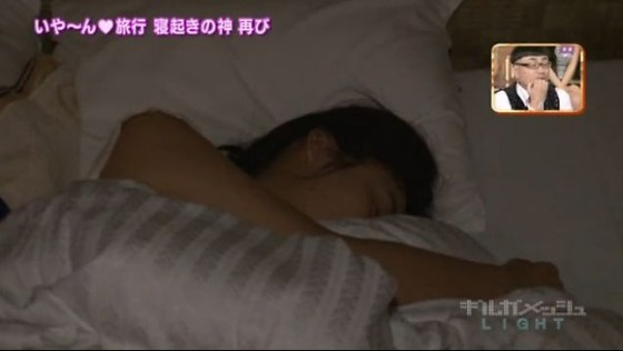 【放送事故画像】女の子のパジャマ姿や寝顔が可愛くて、思わず夜這いかけたくなるwww 11