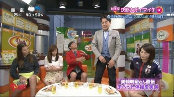 【放送事故画像】テレビのハプニングでやっぱりパンチラが一番見れて嬉しい?ww 14