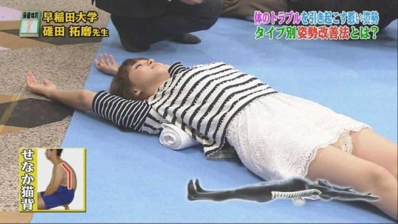 【放送事故画像】テレビのハプニングでやっぱりパンチラが一番見れて嬉しい?ww 16
