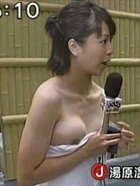 【放送事故画像】いつ見てもやっぱり水着や下着からこぼれそうなオッパイ最高www 22