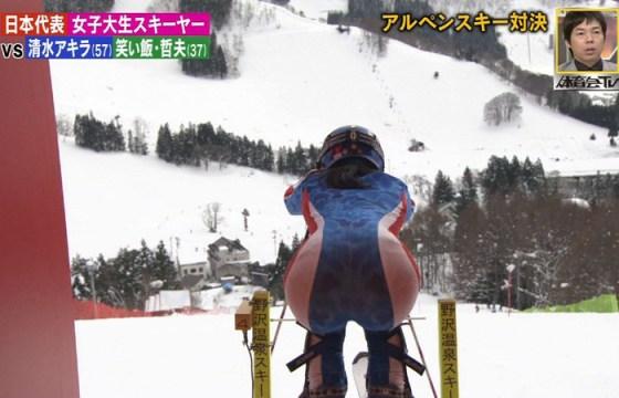 【放送事故画像】ピッチリしたズボン履いてお尻の形が丸分かりww 23