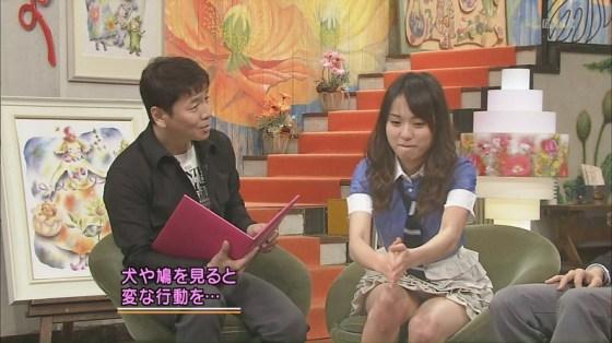 【放送事故パンチラ画像】そんな短いスカート履いてたらほらぁ・・・www 06