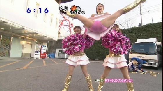 【放送事故画像】完全に股間狙いのカメラアングルが卑猥すぎてやばいwww 10