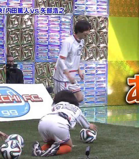 【放送事故画像】女子アナがピッタリしたパンツ履いてお尻のラインが丸分かりww 04