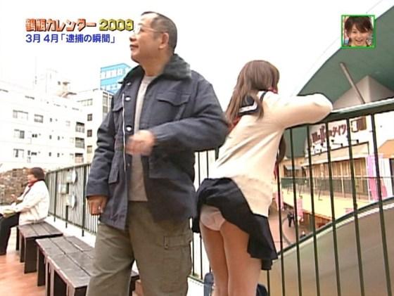 【放送事故画像】もはやパンチラファッションの一部なのか?テレビでパンチラしまくりw 09