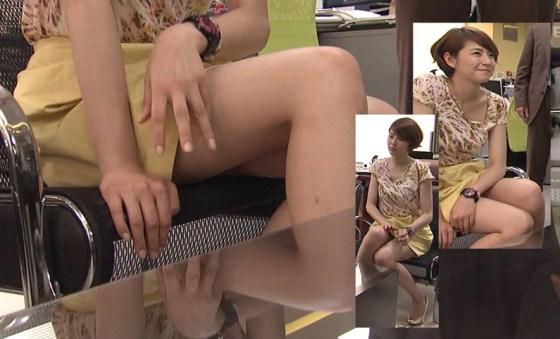 【放送事故画像】どぉだこの太もも!見てたらムラムラしてくるだろ?www 04