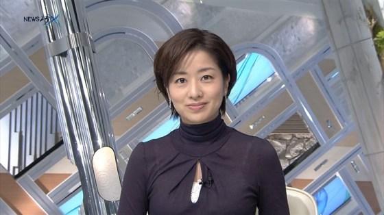 【放送事故画像】男を誘惑する透け透け画像!女子アナの透け透けタマランwww 14