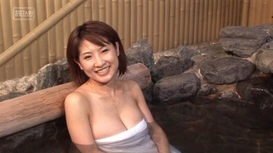 【放送事故画像】マンちら、ポロリに期待のかかる温泉レポ!何も無くても十分エロいけどww 02