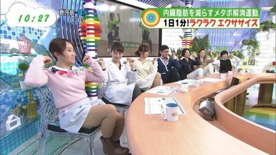 【放送事故画像】ムチムチ太股見てると段々ムラムラしてくるタレントの美脚!! 15