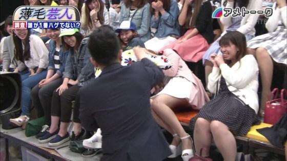 【放送事故画像】放送事故で一番嬉しい事故ってやっぱパンチラでしょww 09