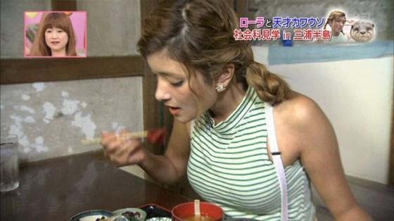 【放送事故画像】ローラ、シースルーから乳首が透けるハプニング!それでもOKwww(2016/4/5!画像大量追加!)