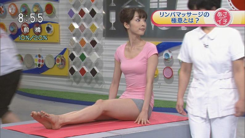 【美脚キャプ画像】タレントの生足もいいけどパンスト履いてる美脚もたまりませんなぁwww 23