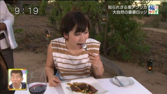 【擬似フェラ画像】エロい表情で食レポする女子アナ達の擬似フェラテクニックがやばいww 12