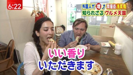 【擬似フェラ画像】芸能人のフェラ顔が拝める食レポがエロすぎてたまらんww 09