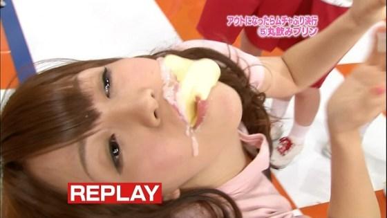 【擬似フェラ画像】芸能人のフェラ顔が拝める食レポがエロすぎてたまらんww 24