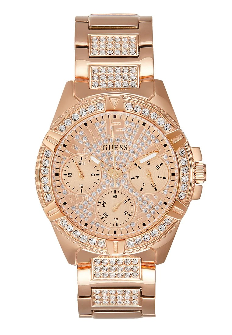 Guess Ladies Sport Uhr Rose Gold Coloured Roségoldfarben Zalando De