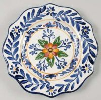 Maxcera Corp Yellow Talavera Salad Plate, Fine China ...
