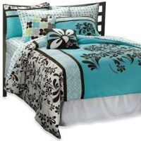 Roxy Julia Girl Blue Twin/Twin XL Duvet, Sheets, Pillows ...