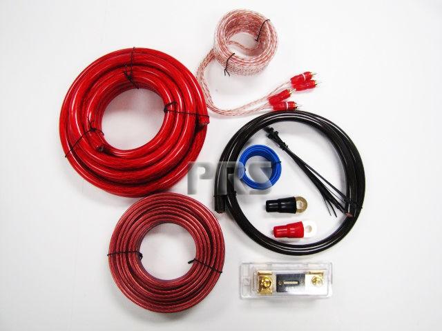 Gauge 3000 W Watt Amp Amplifier Wiring Kit O Awg Car Audio Install