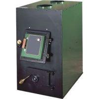 US Stove Clayton Wood Coal Furnace with Draft Kit 1802G