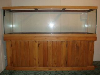 75 Gallon Aquarium, Oak Stand, Canopy $400 (Hampstead) for Sale in