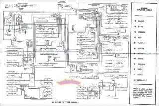 1967 jaguar xke wiring diagram