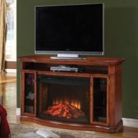 Convertible White Media Electric Fireplace Corner Or Flat Wall