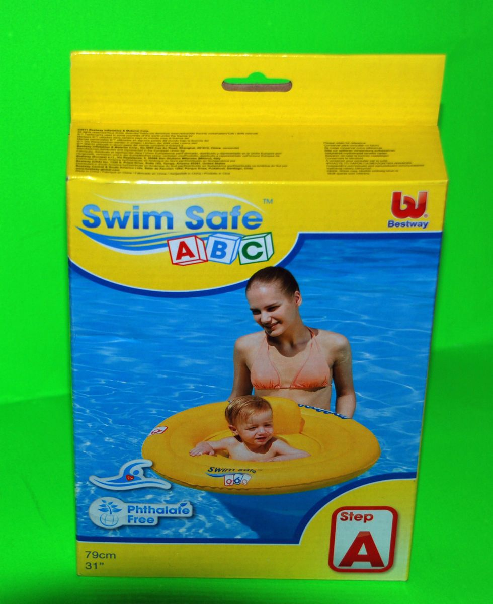 Bodensauger Pool Bestway Swim Safe Baby Seat Bestway Step A Swimming Pool Ages From 1 Year 79cm
