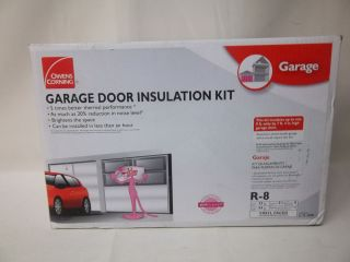 Johns manville r 8 garage door insulation panel kit for 1