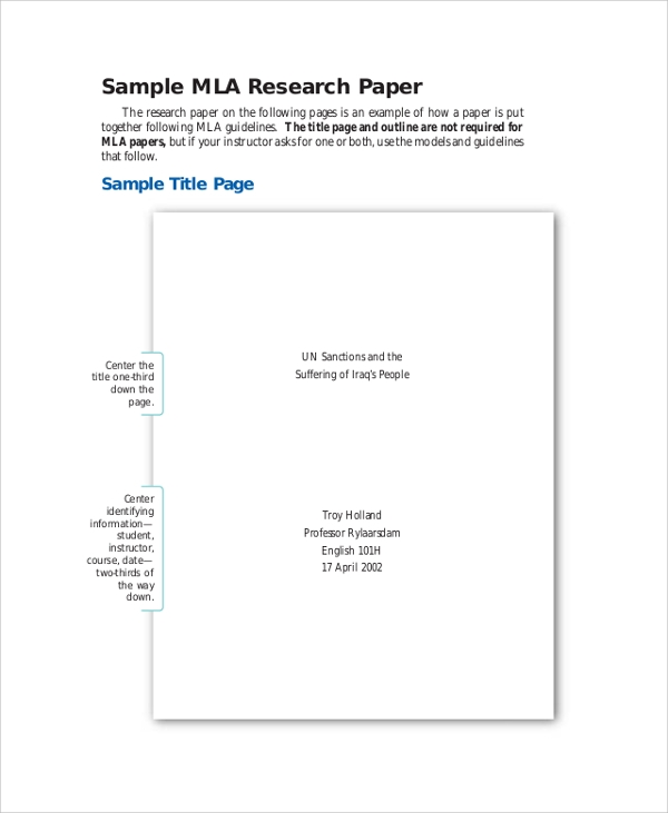 Write my mla cover page for research paper