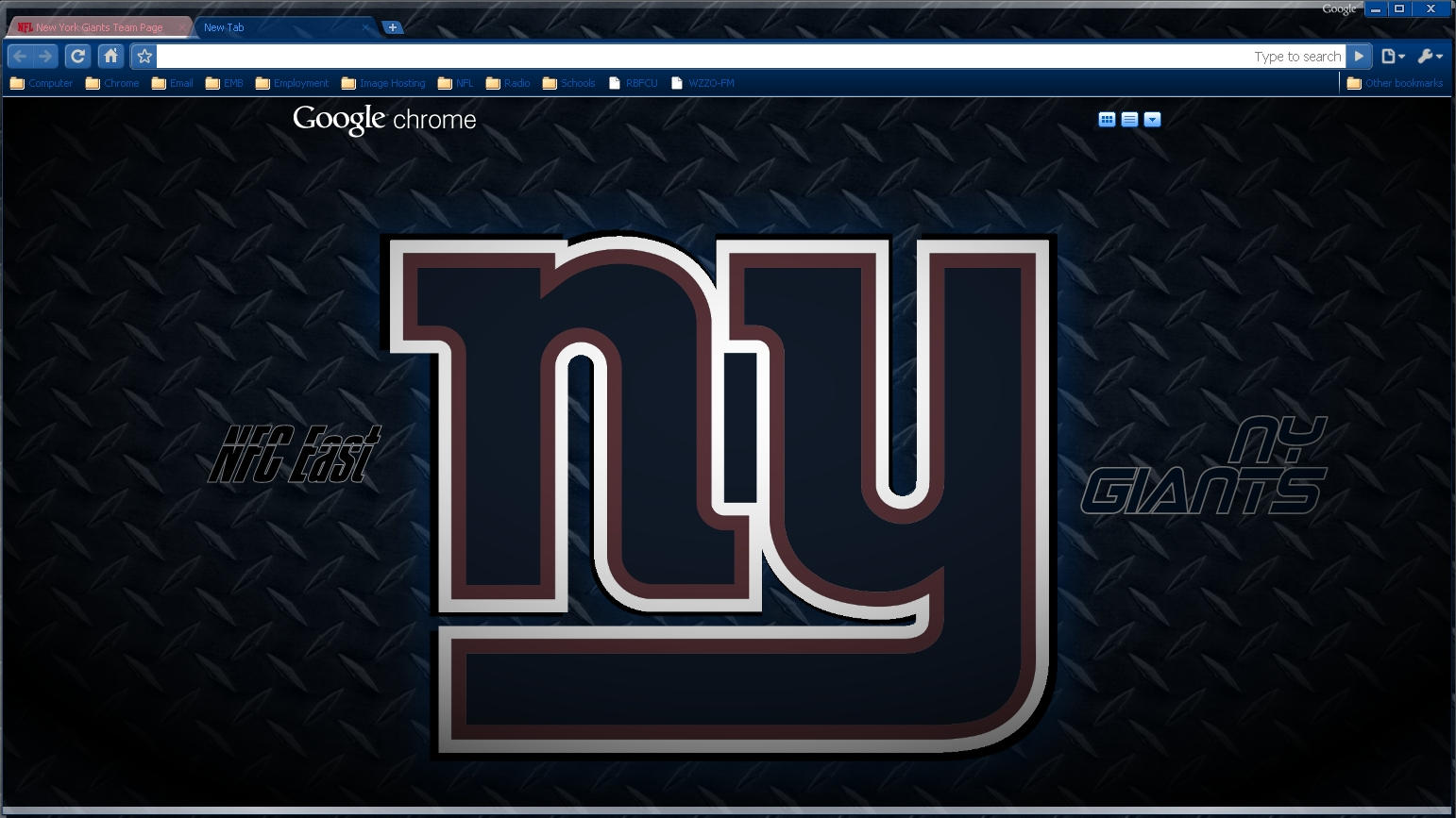 ny giants dp theme by wpfil