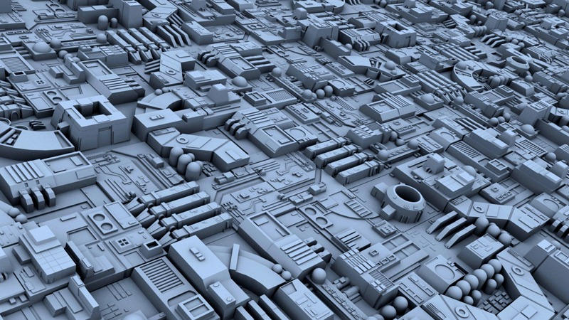 Motherboard Wallpaper 3d Death Star Greebles Conversion By Pixeloz On Deviantart