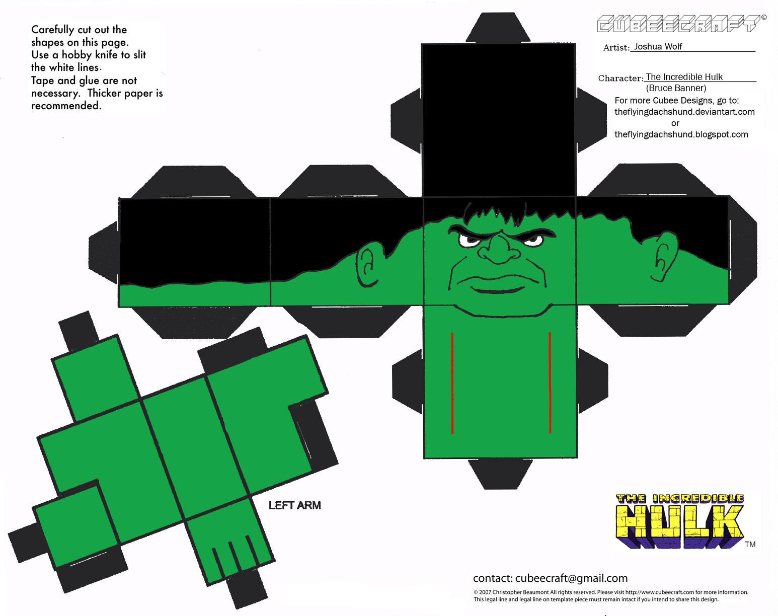 Hulk 3d Wallpaper Download Marvel 1 Hulk Cubee By Theflyingdachshund On Deviantart