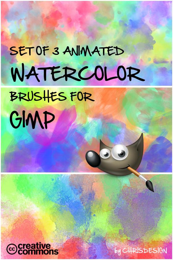 How To Set Animated Wallpaper Watercolor Brush Set By Chrisdesign On Deviantart