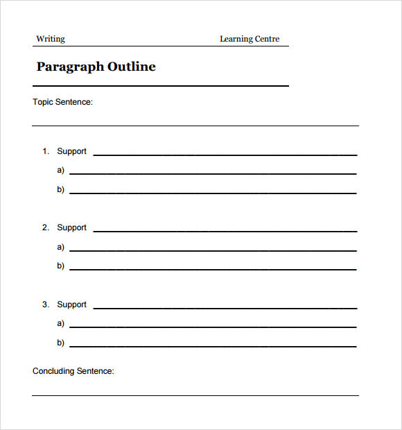 5 paragraph essay template elementary - 5 paragraph essay outline template
