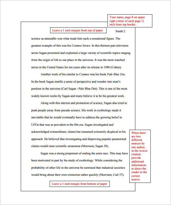 mla format sample research paper - Baskanidai - research paper format
