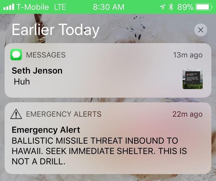 Hawaii Explains How False Missile Alert Happened