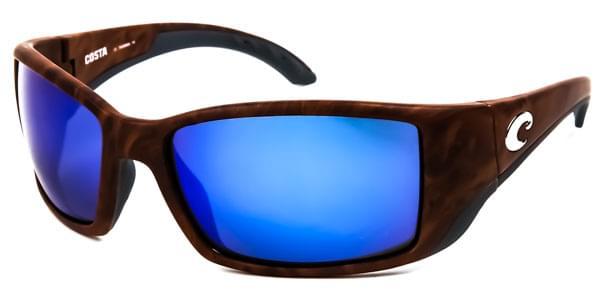 Costa Del Mar Blackfin Polarized BL 11 OBMGLP Sunglasses in Black