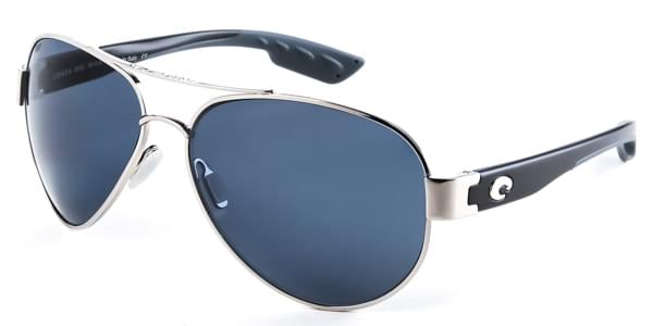 Costa Del Mar South Point Polarized SO 21 OGP Sunglasses in Silver