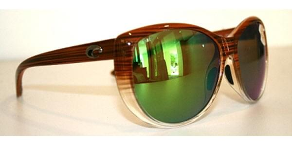 Costa Del Mar La Mar Polarized LM 81 OGMP Sunglasses in Brown