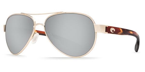 Costa Del Mar Loreto Polarized LR 64 OSCP Sunglasses in Gold