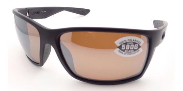 Costa Del Mar Reefton Polarized RFT 01 OSCGLP Sunglasses in Black
