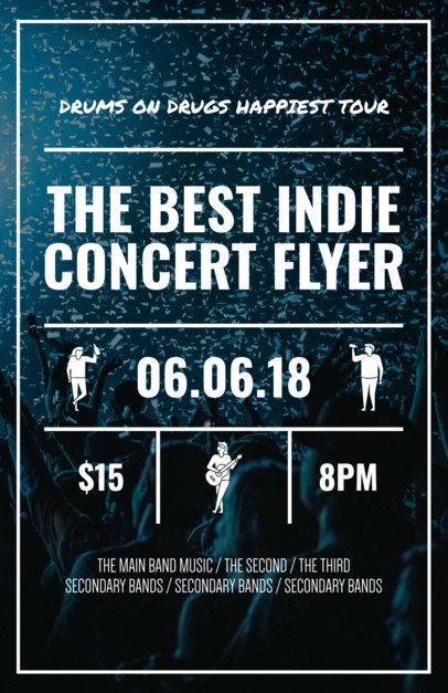 Placeit - Online Flyer Maker for Concert Flyers