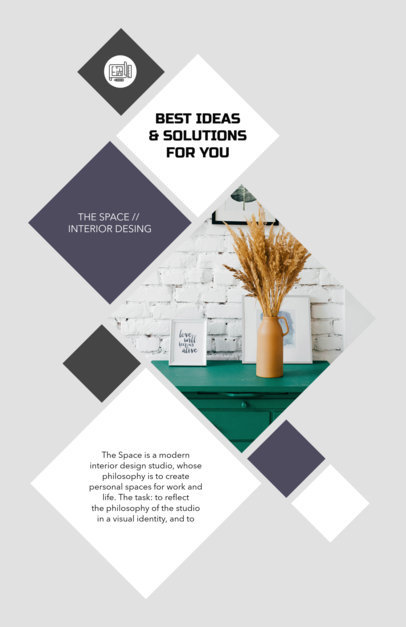 Placeit - Real Estate Flyer Template - interior design flyers