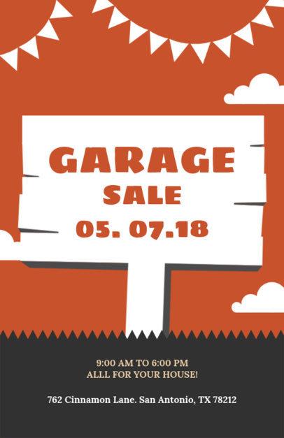 Placeit - Yard Sale Flyer Template - yard sale flyer template