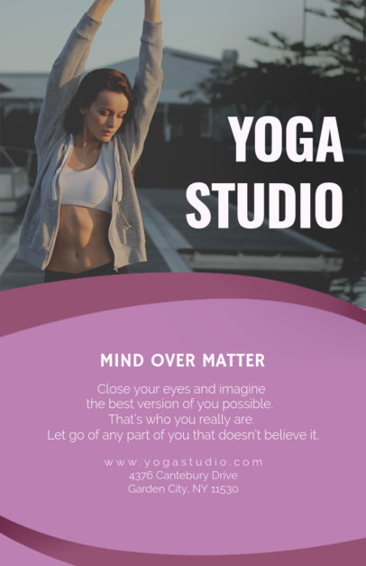 Placeit - Fitness Club Flyer Maker