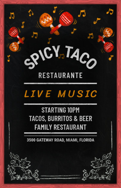 Restaurant Design Templates to Make Beautiful Designs Online (Page 3)