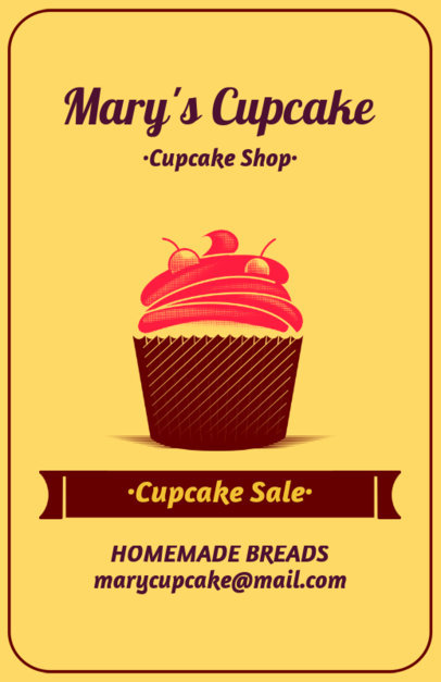 Placeit - Online Flyer Maker for Cupcake Shops