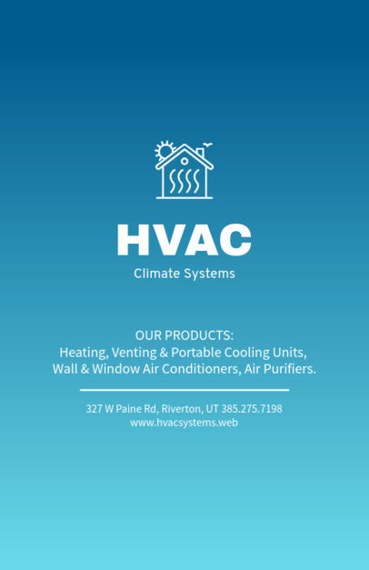 HV/AC Design Templates to Make Beautiful Designs Online