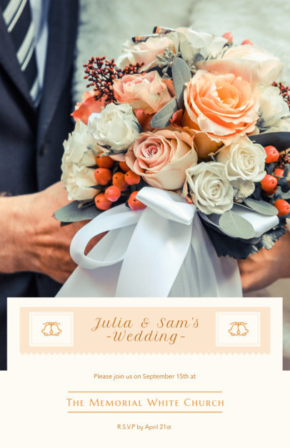 Placeit - Wedding Planner Flyer Template for Event Planners